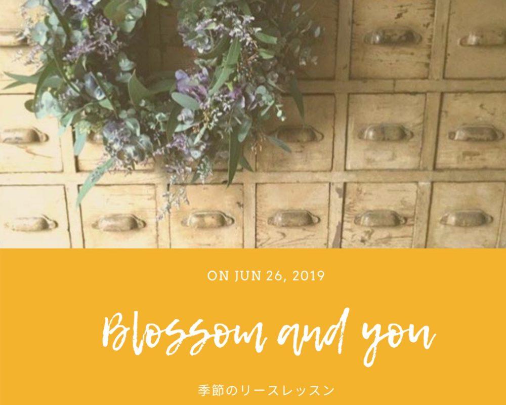 東京から花屋 blossom 嶋 友紀さんを迎え、南魚沼市のカフェ・ソイガソルで開催される「季節のリースレッスン」