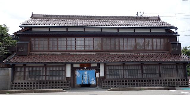 会津若松の古い街並み