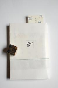 ハトロン紙のブックカバー