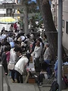 ニイガタブックライト「一箱古本市」