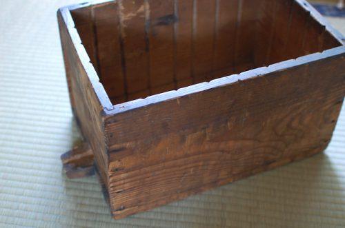 一箱古本市で使った木箱