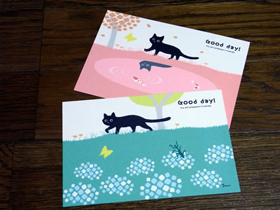 SNOW DESIGNのポストカード