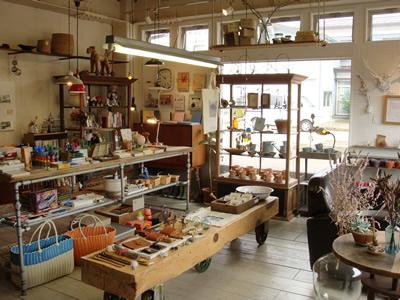 南魚沼市の雑貨屋 CLINK(クリンク)の店内