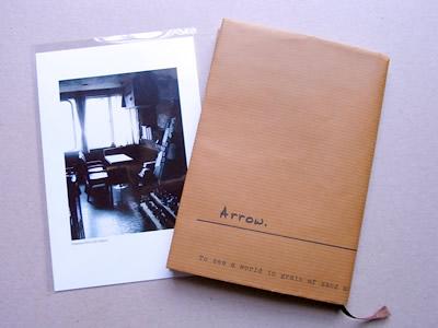 CLINKオリジナルブックカバーとポストカード