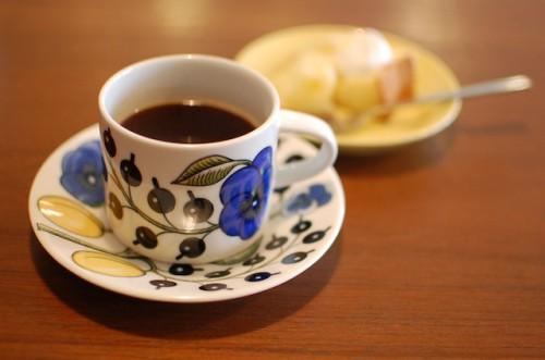リボンカフェのコーヒー
