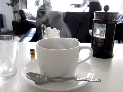 Dのランチセットのコーヒー