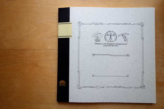正方形のツバメノート表紙