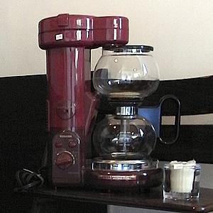 東芝のサイフォン式コーヒーメーカー