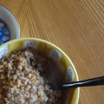 スープジャーで玄米お粥を作るんジャー