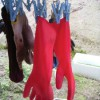 外仕事の手袋