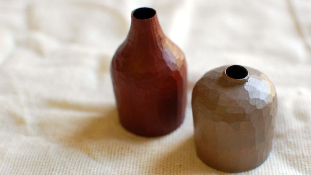 飯塚直人さんの漆の花器