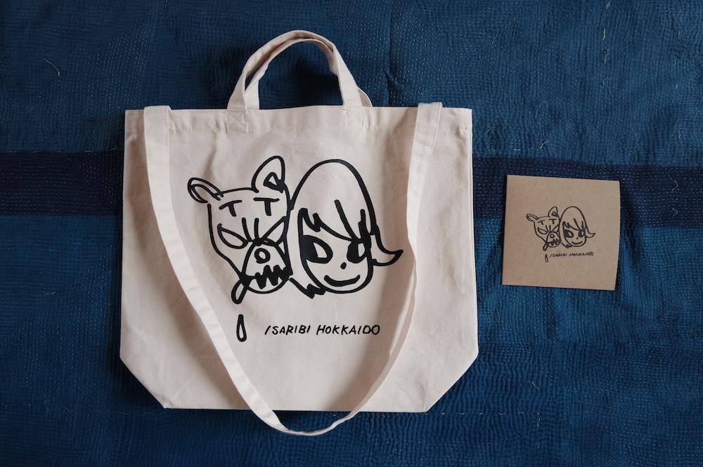 ISARIBI HOKKAIDOのCDとトートバッグ