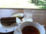樹下美術館のカフェ(ケーキセット)