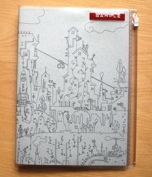 Thinking Power Notebook A5縦ノート用カバー
