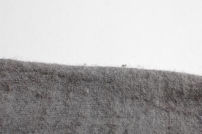 毛玉がボコボコ