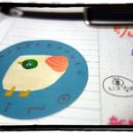 KINOのシール