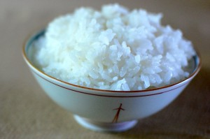 「洗い米」で炊いたご飯