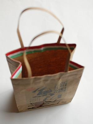 米袋のリサイクルバッグ