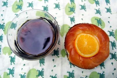 パン屋ソフィーの「オレンジ畑」
