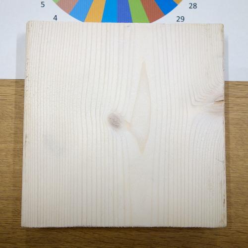 糸かけ曼荼羅ワークショップ:板を選ぶ