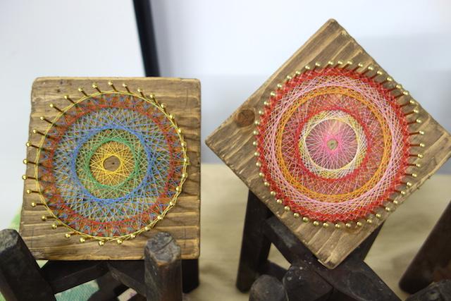 糸かけ曼荼羅の作品例1