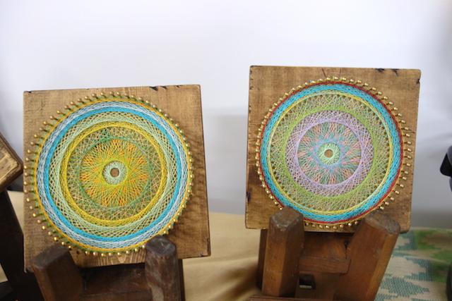 糸かけ曼荼羅の作品例2