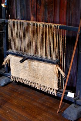 むしろ織り機