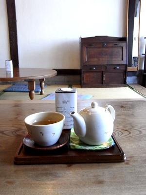 ナノグラフィカでのお茶