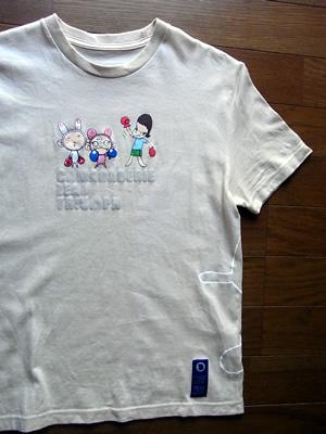 奈良さんコラボTシャツ