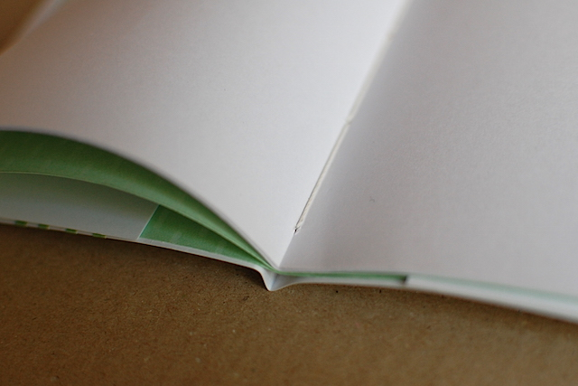 手製本ワークショップのサンプル