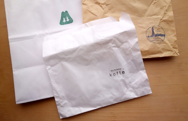 富山にあるお店の紙袋