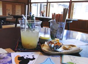 スミレ屋 おてがみカフェ