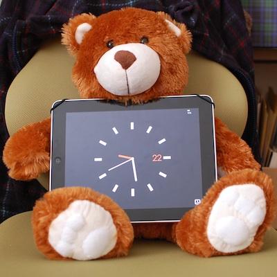 iPad用スタンド「パディベア」