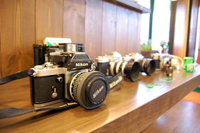フィルムカメラたち
