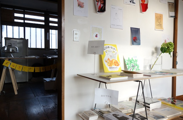 ポンコタンの展示風景、奥の部屋