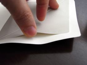 POSTA COLLECT BASIC レターセット封筒:封部分の糊付け