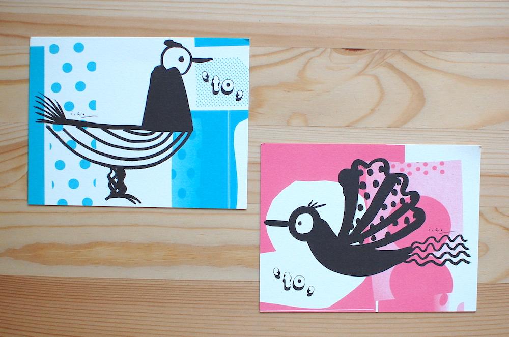 大塚いちおさんのポストカード