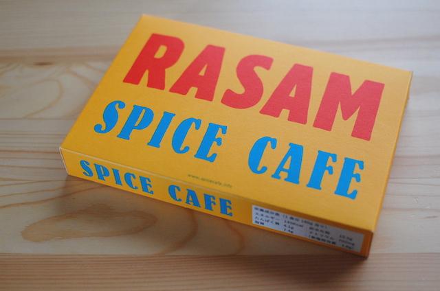 RASAM レトルトカレーのパッケージ