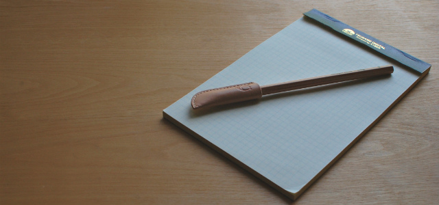 シンキングパワーノートブック、ツバメノートのリーガルパッド