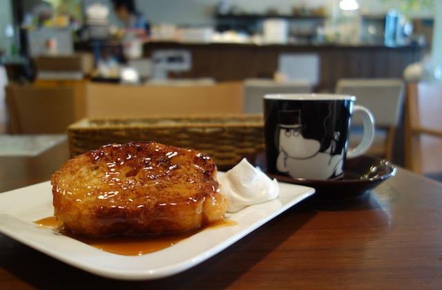 リボンカフェのフレンチトースト