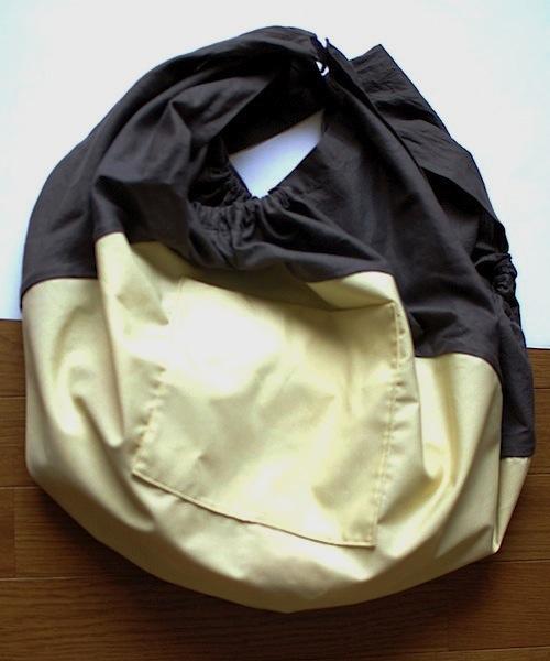 ふろしきからバッグの形に