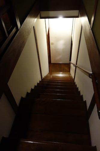 旧齋藤家別邸の階段