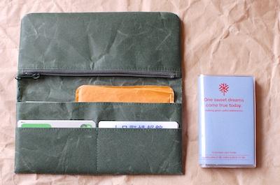 長財布とカードケースにミニファイル