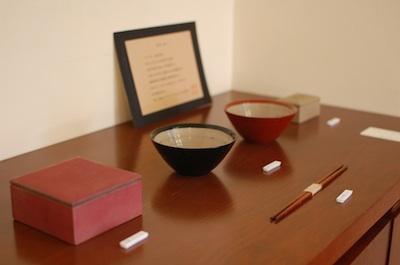 飯塚直人さんの漆の器