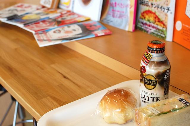 上越市のパン屋「ソフィー」イートインコーナーに『ヨレヨレ』