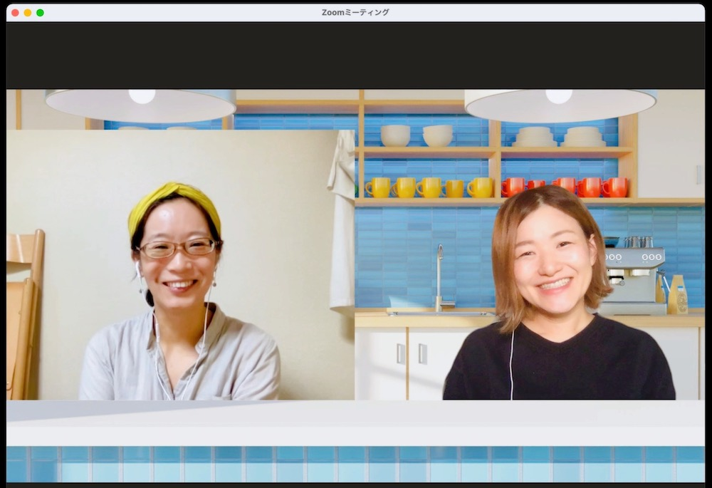 すごはんPOPオンライン講座のZoom画面スクリーンキャプチャ