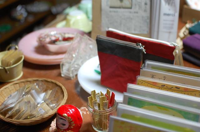 お茶の間雑貨スミレ屋の雑貨