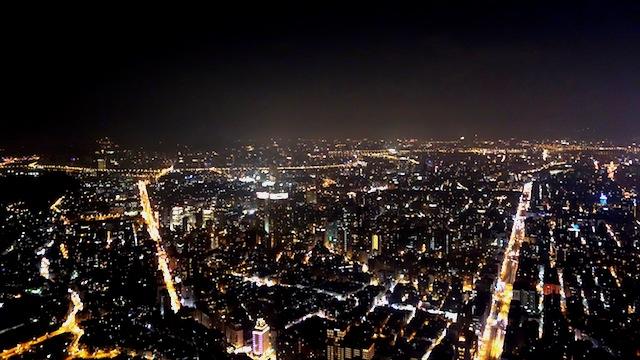 台北101からの眺め
