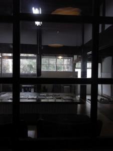 tanneのカフェから室内
