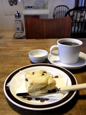 柏崎のカフェギャラリー tanneのスコーン